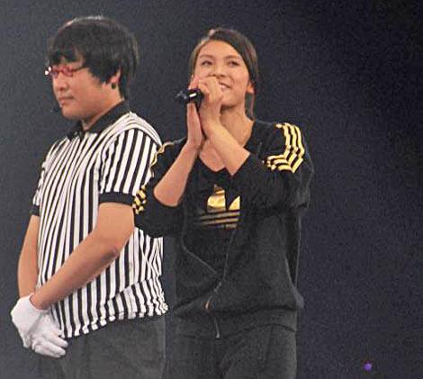 AKB48が『19thシングル選抜じゃんけん大会』開催、2回戦で姿を消した秋元才加 (C)ORICON DD inc.