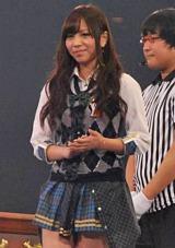 AKB48が『19thシングル選抜じゃんけん大会』開催、見事にメンバー入りした河西智美 (C)ORICON DD inc.