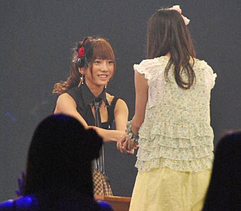 AKB48が『19thシングル選抜じゃんけん大会』開催、見事にメンバー入りした高城亜樹 (C)ORICON DD inc.