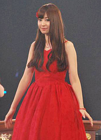 AKB48が『19thシングル選抜じゃんけん大会』開催、見事にメンバー入りした小嶋陽菜 (C)ORICON DD inc.