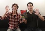活動休止中の岡村隆史に代わって相方の矢部浩之(左)が参加 (c)日本テレビ