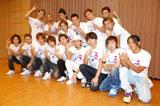 ダンスイベント「UNITED Vol.3〜RISING DANCE FESTIVAL〜」に出演した(後列左から)DA PUMP、延山信弘(前列左から)Lead、三浦大知、ISSA、w-inds. (C)ORICON DD inc.