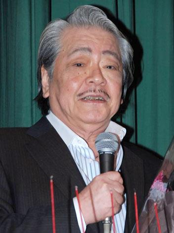『筒井康隆映画祭』にてトークショーを行った筒井康隆氏 (C)ORICON DD inc.