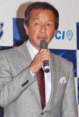 日本サッカー名蹴会発足記者発表会に出席した金田喜稔氏 (C)ORICON DD inc.