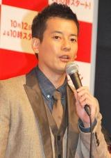 ドラマ『ギルティ 悪魔と契約した女』(関西テレビ・フジテレビ系)の制作発表会見に出席した唐沢寿明 (C)ORICON DD inc.