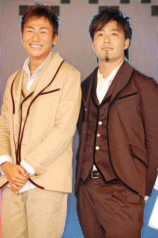 『JAPAN国際コンテンツフェスティバル2010』のグランドセレモニーに出席したキマグレンの(左から)クレイ、イセキ (C)ORICON DD inc.