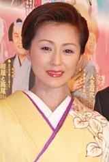 産休から復帰した長山洋子が『五木ひろし特別公演』の公開リハーサルに参加 (C)ORICON DD inc.