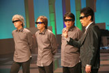 日本で初めての3D放送による音楽レギュラー番組『Panasonic 3D MUSIC STUDIO』に出演した稲垣潤一が3D体験