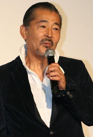 映画『スープ・オペラ』初日舞台あいさつに出席した藤竜也 (C)ORICON DD inc.