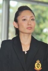 『フィギュアスケートグランプリシリーズ・ファイナル2010』記者会見に出席した安藤美姫選手 (C)ORICON DD inc.