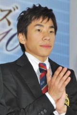 『フィギュアスケートグランプリシリーズ・ファイナル2010』記者会見に出席した織田信成選手 (C)ORICON DD inc.