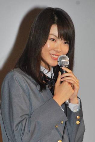 連続ドラマ『Q10(キュート)』記者会見に出席した福田麻由子 (C)ORICON DD inc.