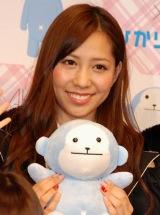 AKB48史上初となる野外ライブイベントの3D放送決定に関して『ひかりTV』の会見に出席したAKB48の河西智美 (C)ORICON DD inc.