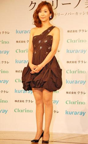 『第8回 クラリーノ美脚大賞』の30代部門を受賞した優香 (C)ORICON DD inc.