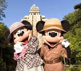 東京ディズニーシーの「ロストリバーデルタ」エリアに新施設『ミッキー&フレンズ・グリーティングトレイル』が誕生(C)Disney