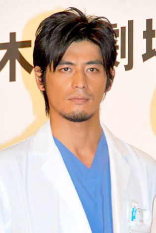 ドラマ『医龍 Team Medical Dragon 3』の制作発表会に出席した坂口憲二 (C)ORICON DD inc.