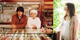 江口&蒼井優初共演映画の主題歌に抜擢されたももちひろこ(右) (C)2010『洋菓子店コアンドル』製作委員会