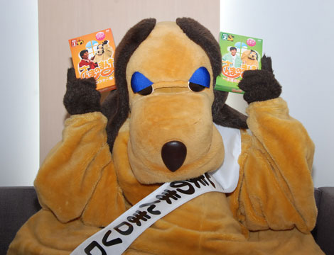 DVDを手にするまんまちゃん(C)ORICON DD inc.
