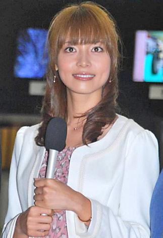 新ドラマ『パーフェクト・リポート』(フジテレビ系)の制作発表会見に出席した相武紗季 (C)ORICON DD inc.