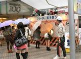 SHIBUYA109の前で開催されたイベント風景。『フリーター、家を買う。』(フジテレビ系)
