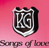 KGが10月20日に発売するアルバム『Songs of love』(初回限定DVD付)