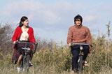 『ゲゲゲの女房』で共演した(左から)松下奈緒、向井理 (C)ORICON DD inc.