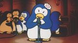 27年ぶりに復活! ペンギンの表情も可愛らしい当時の映像を使った『ボス ホットシルキーブラック』(サントリー)新CM (C)TODA&HIKONE/HORIPRO