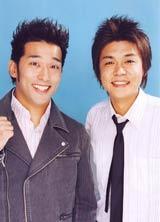 結婚を報告したやるせなす・石井康太(左)