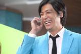 笑顔も爽やかな玉山鉄二/『BIG』新CMメイキングカット
