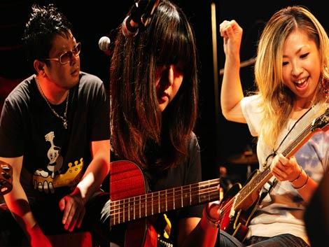 サムネイル GO!GO!7188 (※写真左から、ターキー、ユウ、妊娠発表したアッコ)