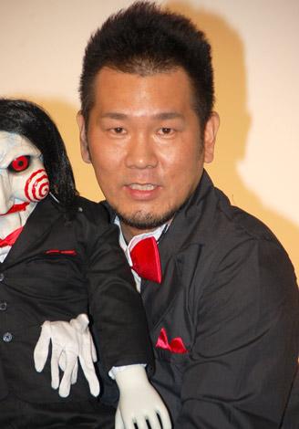 映画『ソウ ザ・ファイナル 3D』のトークイベントに参加したFUJIWARAの藤本敏史 (C)ORICON DD inc.