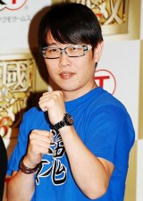 PlayStation3向けゲームソフト『真・三國無双6』の発表会に出席したギンナナの金成公信 (C)ORICON DD inc.