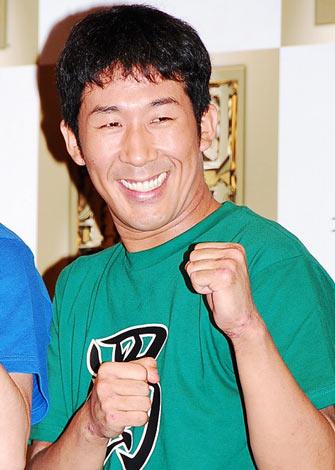 PlayStation3向けゲームソフト『真・三國無双6』の発表会に出席した麒麟の田村裕 (C)ORICON DD inc.