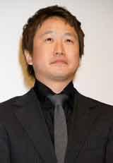映画『SP 野望篇』の舞台あいさつに出席した波多野貴文監督