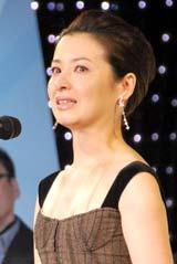 第27回『ATP賞テレビグランプリ 2010』授賞式で初主演ドラマがグランプリを受賞し、涙ながらに喜びを語った檀れい