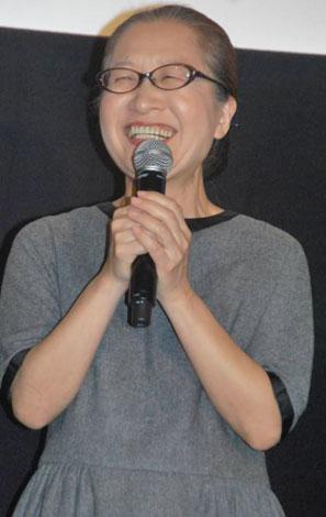 映画『マザーウォーター』初日舞台あいさつに出席したもたいまさこ (C)ORICON DD inc.