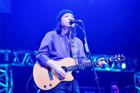 ワーナー40周年イベント「100年MUSIC FESTIVAL」に出演した山下達郎