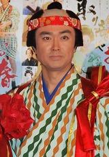 明治座の11月公演『取り立てや お春』の公開けいこを行った石黒賢 (C)ORICON DD inc.