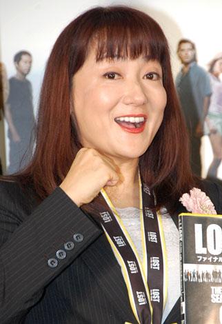 海外ドラマ『LOST ファイナル・シーズン』DVDリリース記念イベントに参加したエド・はるみ (C)ORICON DD inc.
