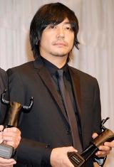 """日本CM界最大のイベント『2010 50th ACC CM FESTIVAL』で""""ベスト演技賞""""を受賞した大森南朋 (C)ORICON DD inc."""