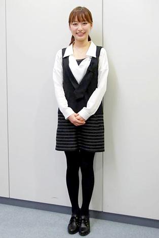 インタビューに応じた枡田絵理奈アナウンサー (C)ORICON DD inc.