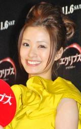 映画『エクリプス/トワイライト・サーガ』の公開記念試写会イベントに出席した上戸彩 (C)ORICON DD inc.