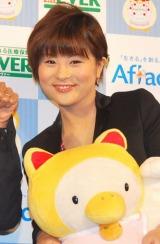 『バースデーまねきねこダックカフェ』のトークイベントに出席した前田愛 (C)ORICON DD inc.