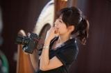 『アナ★バン!カレンダー2011』製作のため、様々なシチュエーションで撮影を行う中野美奈子アナウンサー