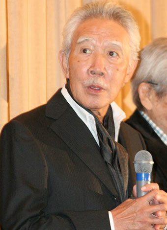 映画『ふたたび swing me again』の舞台あいさつに出席した藤村俊二 (C)ORICON DD inc.