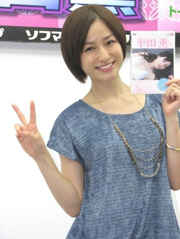 ヘアスタイルが素敵な平田薫さん