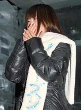 映画『フローズン』のDVD応援団長就任記念記者発表会で小倉優子の結婚の話題に触れ涙ながらに祝福した栗山夢衣