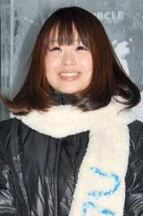 映画『フローズン』のDVD応援団長就任記念記者発表会に出席した栗山夢衣