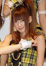 SUPER☆GiRLSのリーダー・八坂沙織(21) (C)ORICON DD inc.