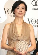 『VOGUE NIPPON Women of the Year 2010』授賞式に出席した草刈民代 (C)ORICON DD inc.